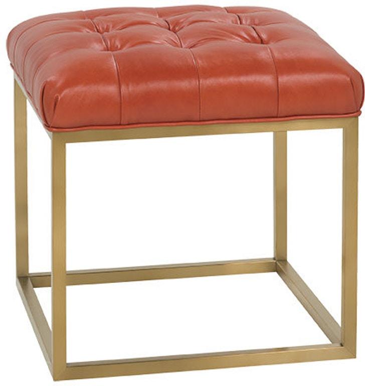 Fabulous Rowe Living Room Gillian Leather Cube Ottoman P300 L 005 Inzonedesignstudio Interior Chair Design Inzonedesignstudiocom