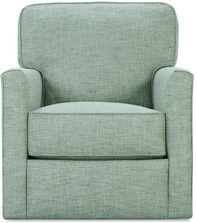 Rowe Living Room Evan Swivel Chair P340 016 Hickory