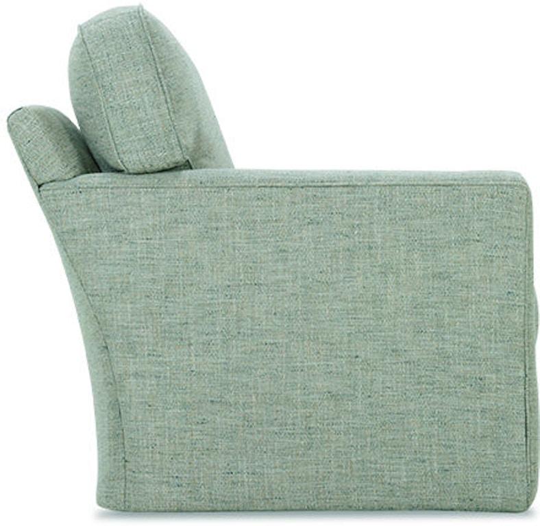 Rowe Living Room Evan Swivel Chair P340 016 Good S