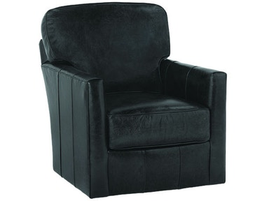 Rowe Living Room Leather Swivel Chair P340 L 016 Mills