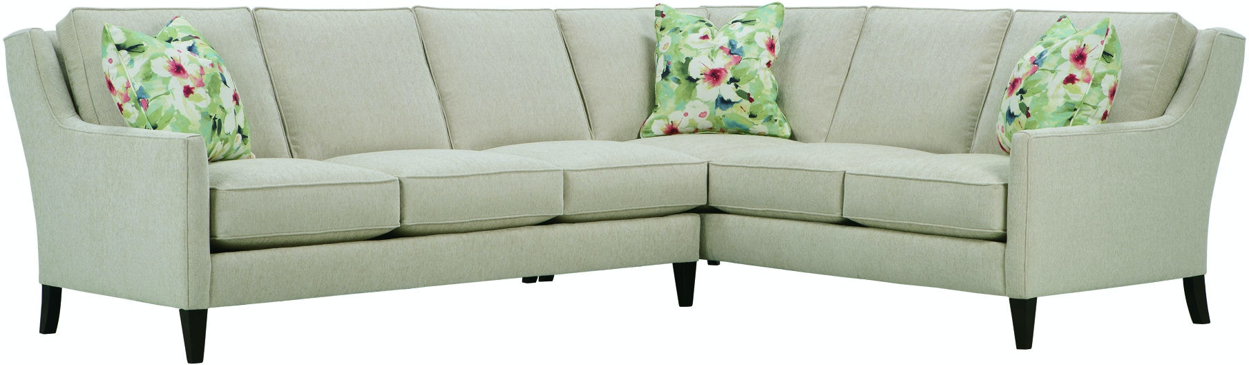 Rowe Living Room Andee Sectional P390 Sect Strobler Home
