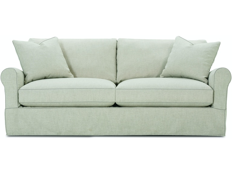 Rowe Living Room 2 Cushion Sofa P603 Slip 002 Wells Home