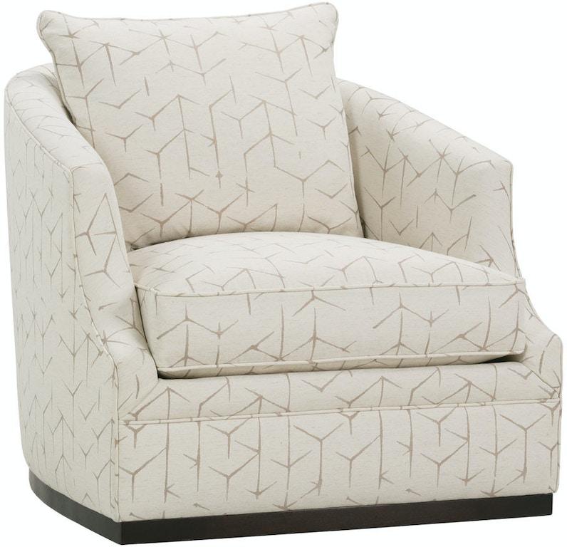 Remarkable Rowe Living Room Emmerson Swivel Chair P801 016 Burke Machost Co Dining Chair Design Ideas Machostcouk
