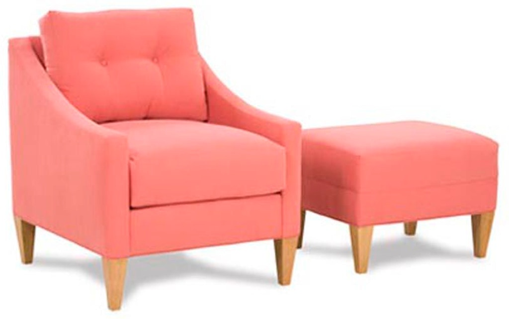 Rowe Living Room Keller Accent Chair S341   Hickory ...