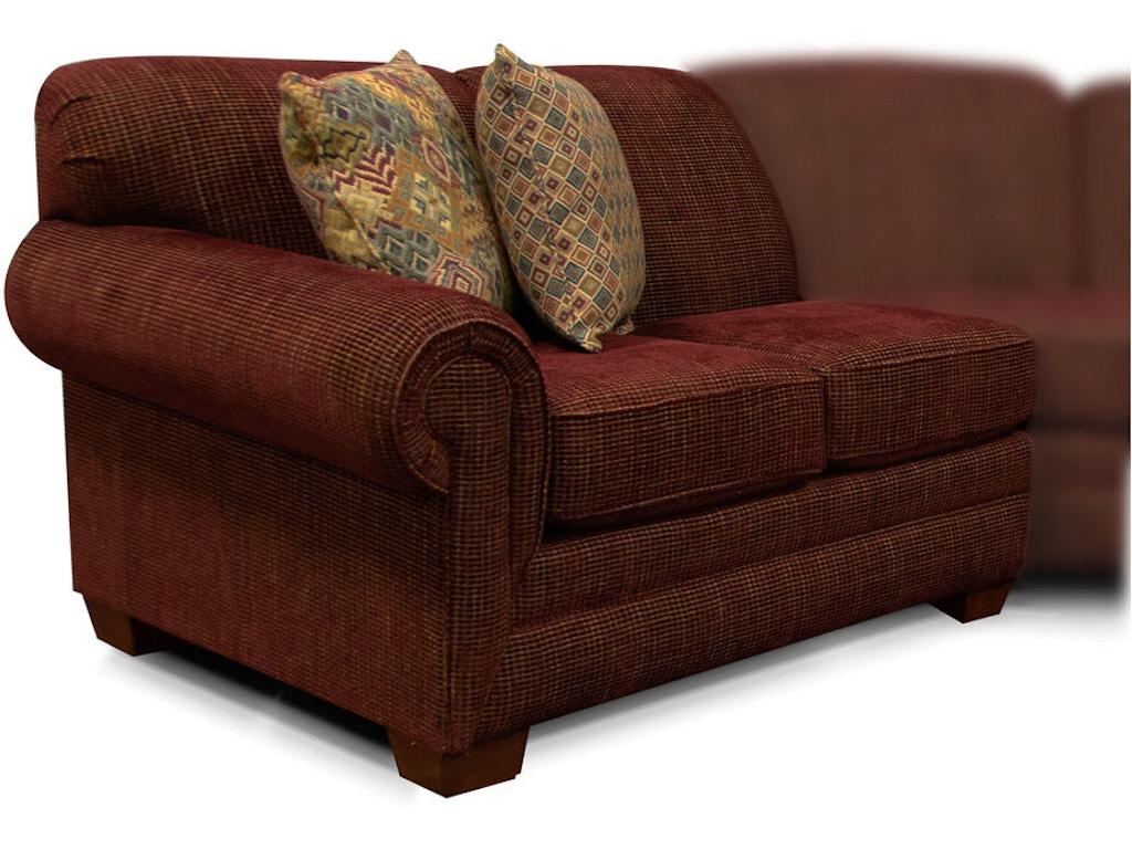 Miraculous England Living Room Monroe Left Arm Facing Loveseat 1430 28 Cjindustries Chair Design For Home Cjindustriesco