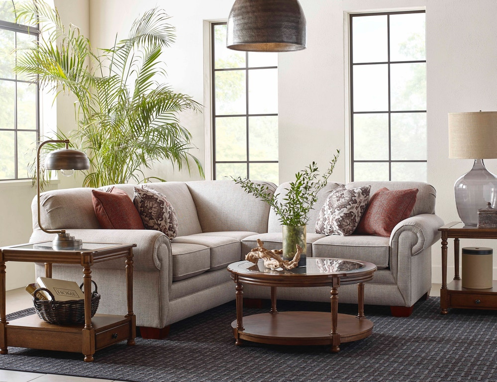 England Living Room Monroe Sectional 1430 Sect Davis