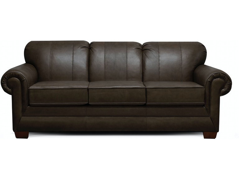 England Living Room Monroe Leather Sofa 1435ls Abide