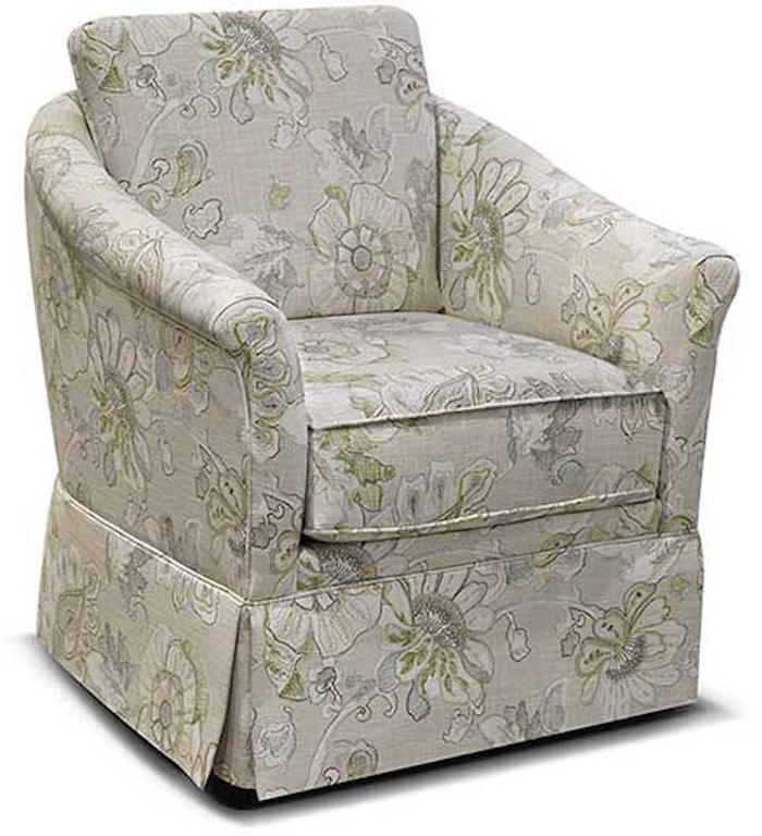 England Living Room Denise Swivel Chair 155071s Blockers