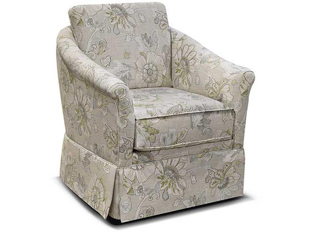 England Living Room Denise Swivel Chair 155071s England