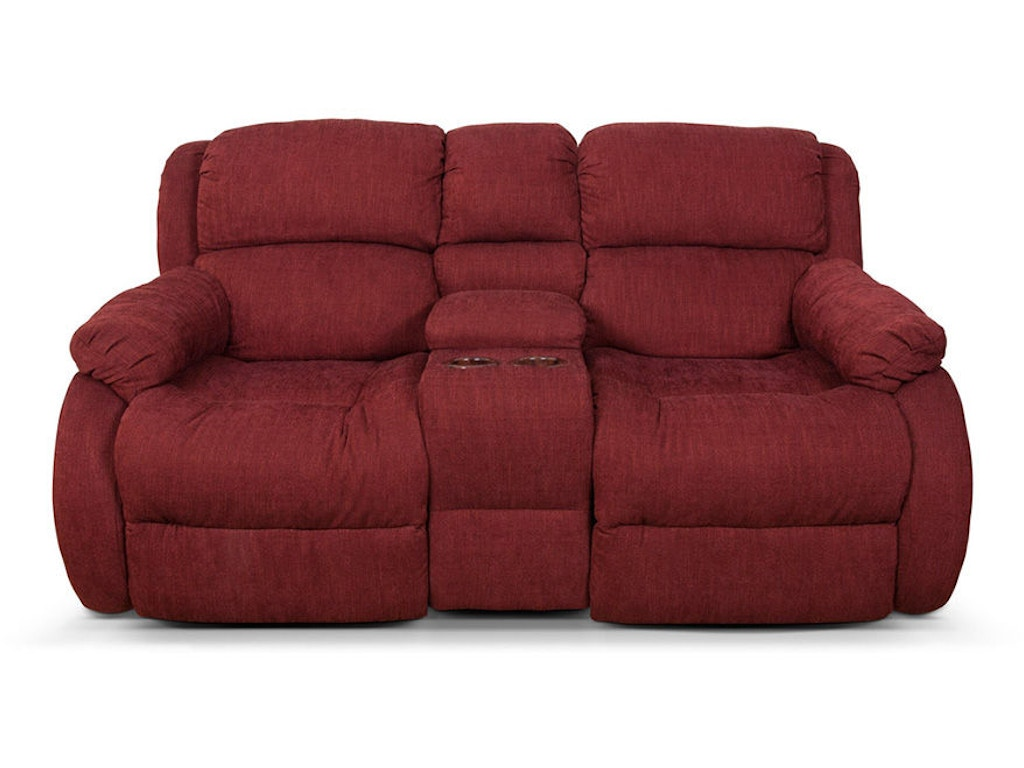 England Living Room Hali Double Reclining Loveseat Console 2010 85 Image Audio Wasilla Ak