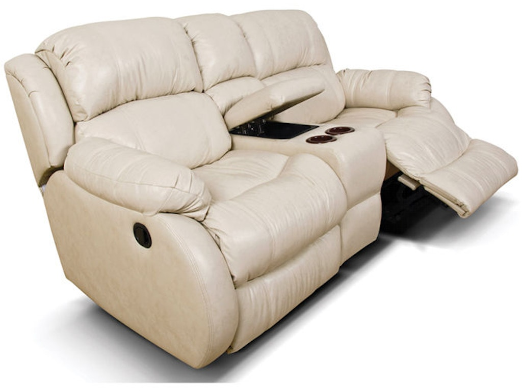 England Living Room Litton Double Rocking Reclining Loveseat Console 636938 Furnitureland