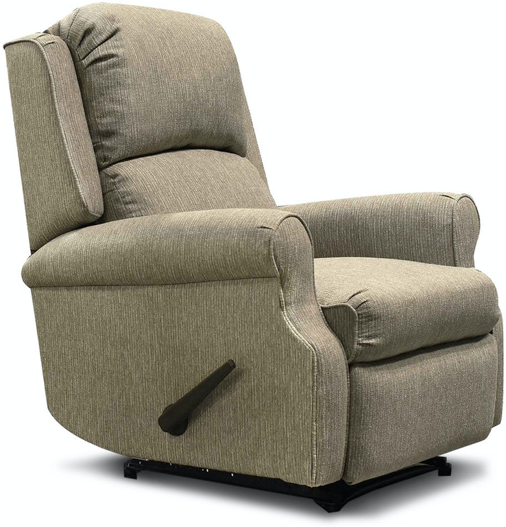 England Living Room Marybeth Rocker Recliner With Handle