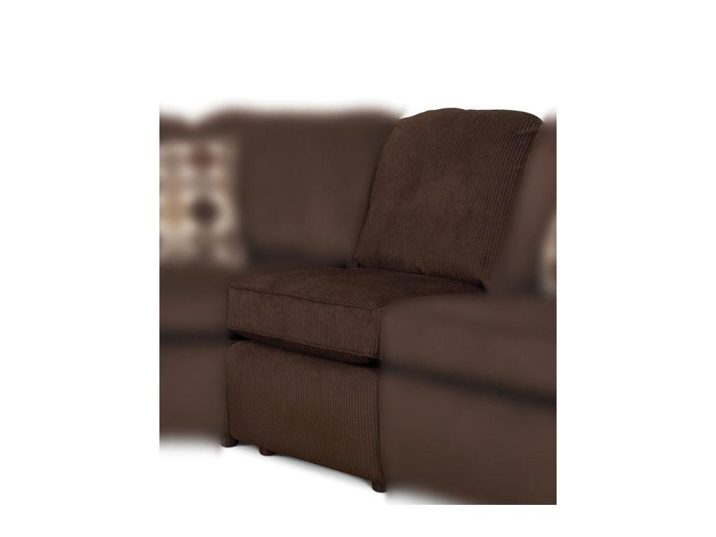 England Living Room Malibu Armless Chair 2400 39 Davis