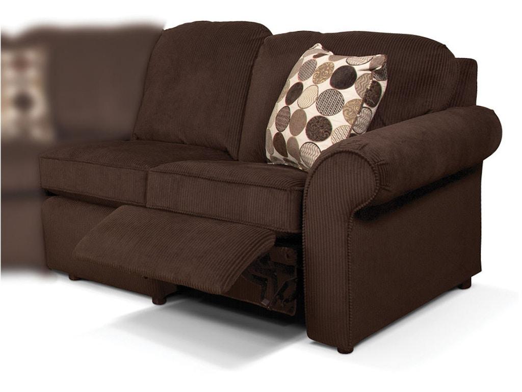 England Living Room Malibu Raf Reclining Loveseat 240059p