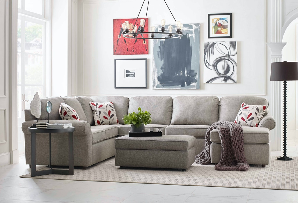 England Living Room Malibu Sectional 2400 Sect England