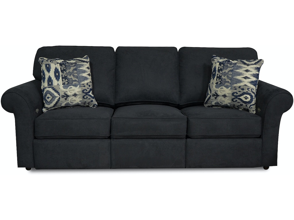 England living room huck double reclining sofa 2451 for Sofa eller couch