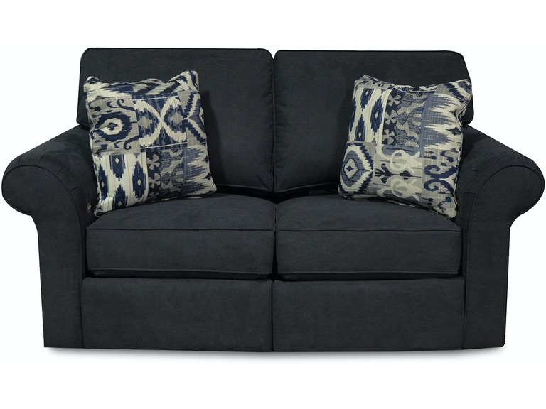 England Living Room Huck Double Reclining Loveseat 2453