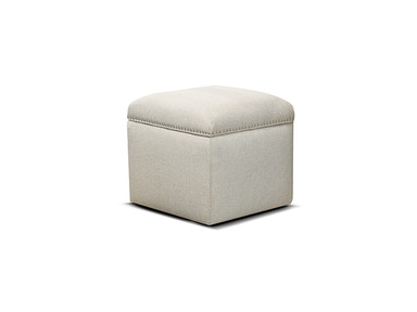 England Parson Storage Ottoman with Nails 738454