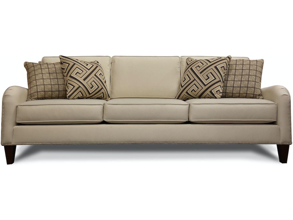 England Living Room Preston Sofa With Nails 2w05n Simply