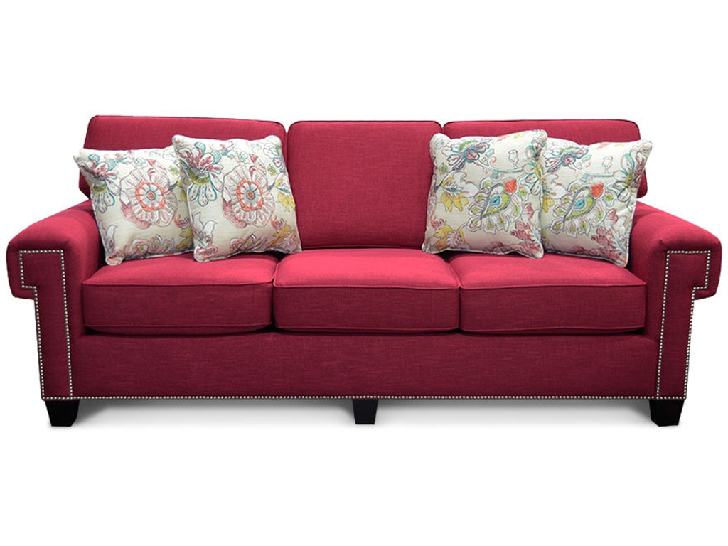 England Living Room Yonts Sofa With Nails 2y05n Sofas