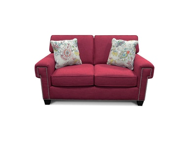 England Yonts Loveseat with Nails 2Y06N