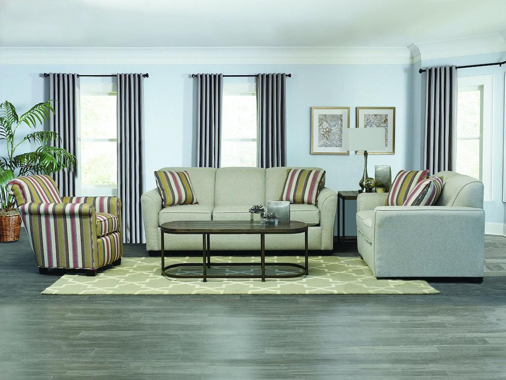 England Living Room Smyrna Sofa 305 Arthur F Schultz