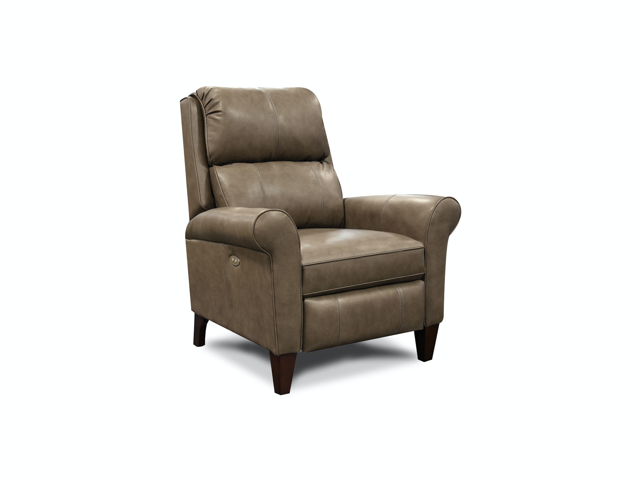 Stupendous Black Grey Or Brown Leather High Back Accent Chair Tan Ibusinesslaw Wood Chair Design Ideas Ibusinesslaworg