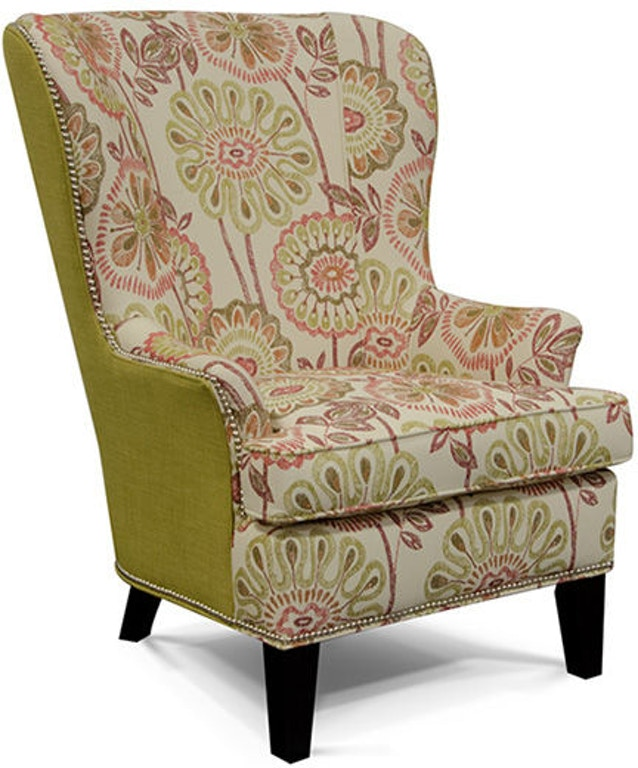 Astonishing England Living Room Smith Chair With Nails 4544N England Ibusinesslaw Wood Chair Design Ideas Ibusinesslaworg