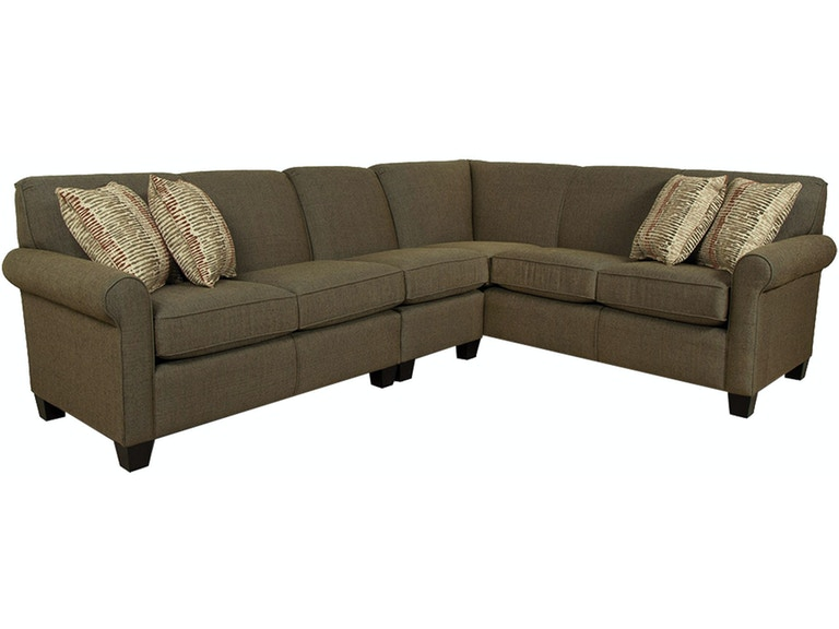 England Living Room Angie Sectional 4630 Sect Sofas
