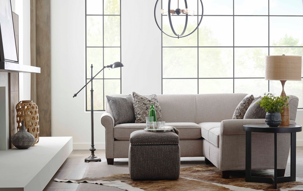 England Living Room Angie Sectional 4630 Sect Davis