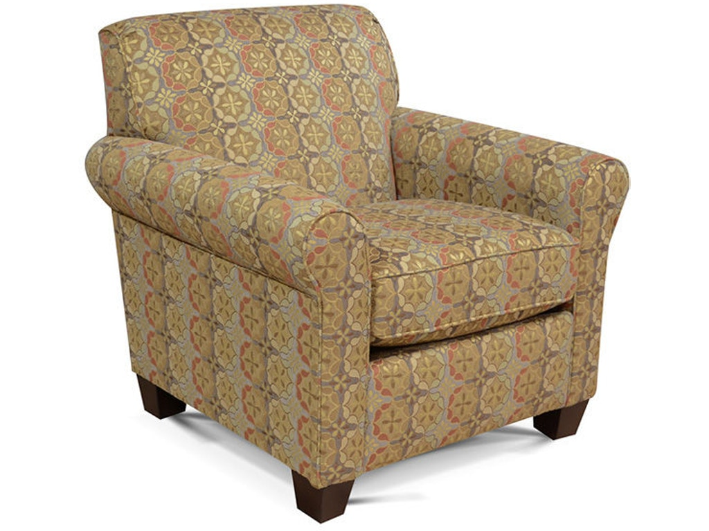 England Living Room Angie Chair 4634 Seaside Furniture