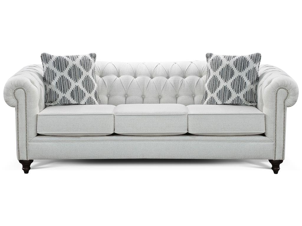 England Living Room Brooks Sofa 4h05n Sofas Unlimited