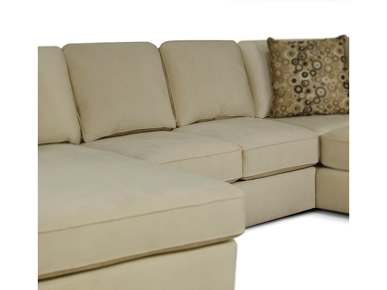 England Living Room Rouse Sectional 4R00-43   Hickory Furniture Mart ...
