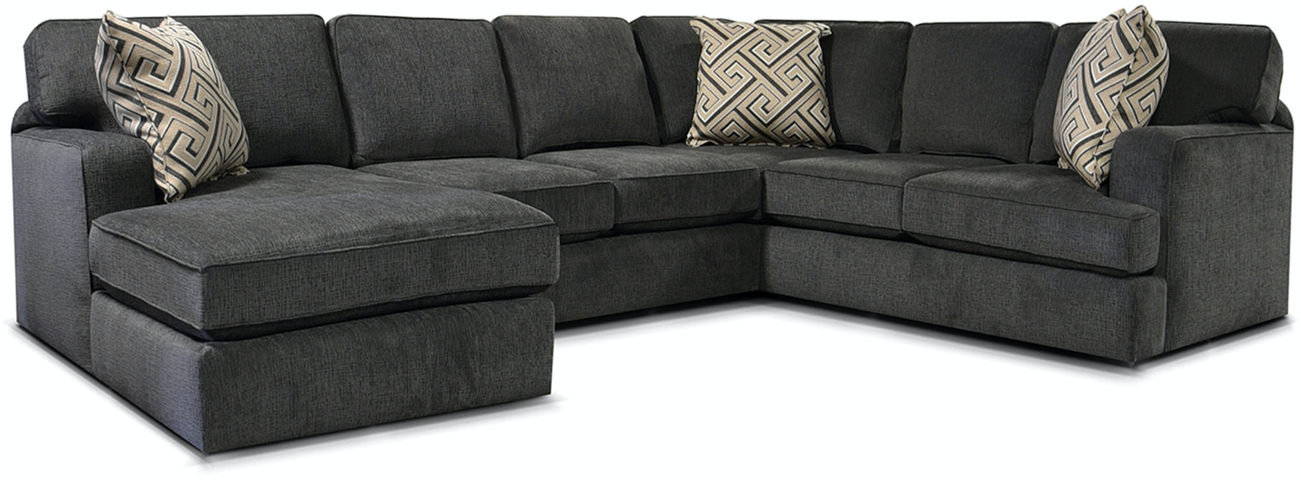 England Living Room Rouse Sectional 4r00 Sect Seaside
