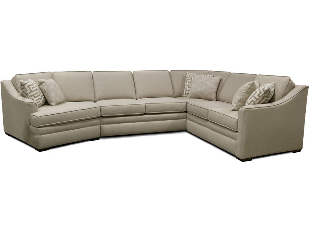England Living Room Thomas Sectional 4t00 Sect Sofas