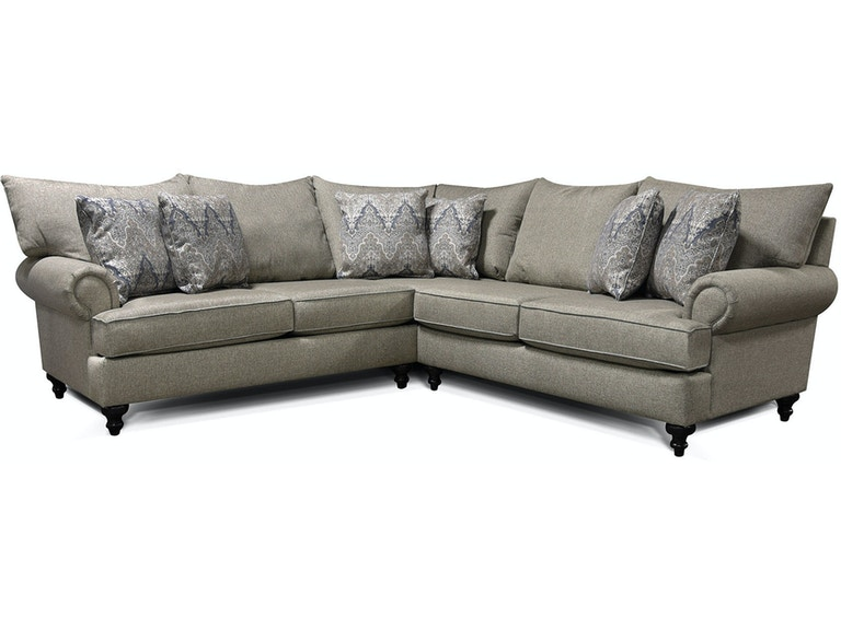 England Living Room Sectional Rosalie 4Y00-Sect - Naturwood ...