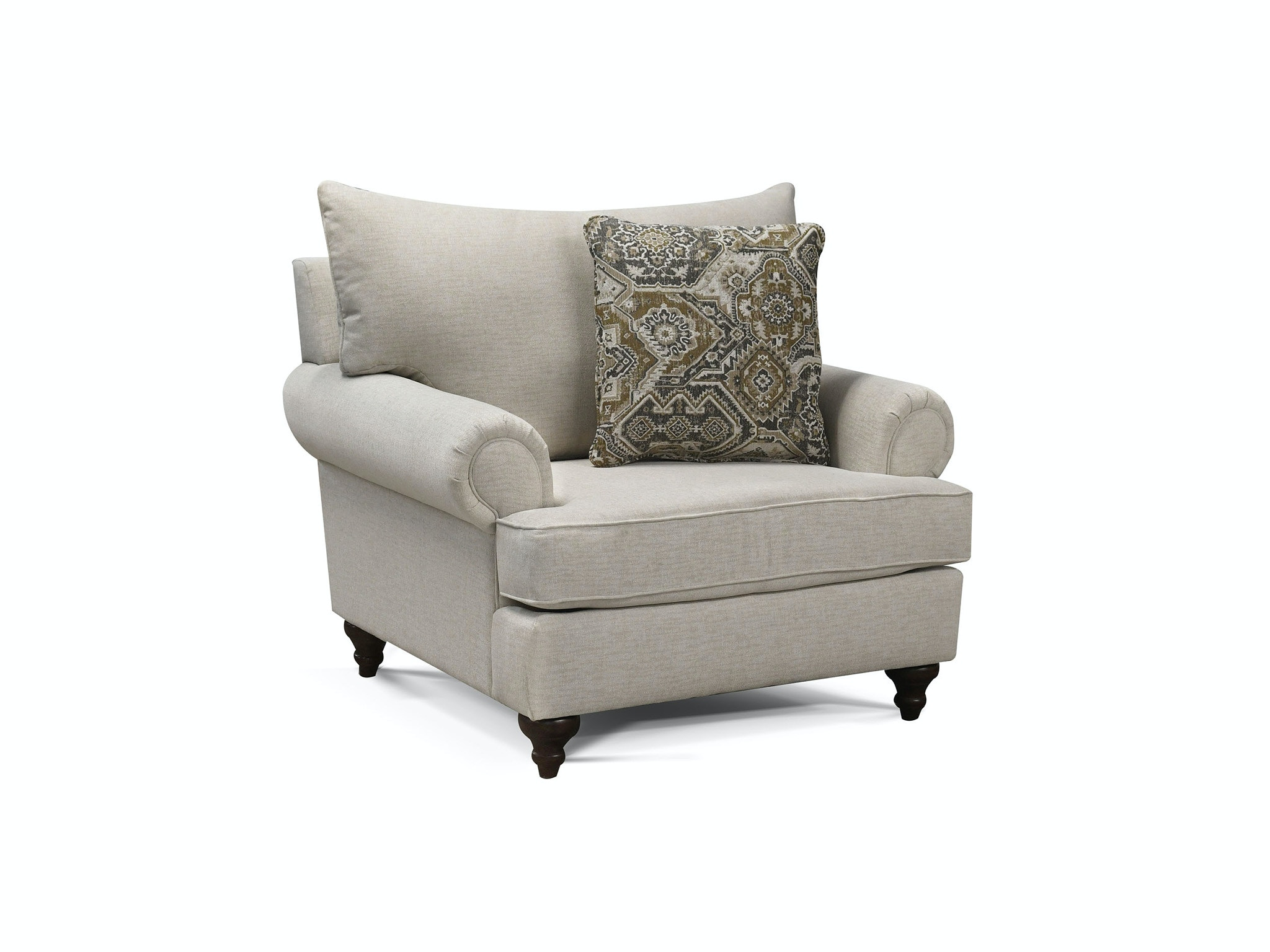 England Living Room Accent Chair, Benavento Spa 780734 At FurnitureLand