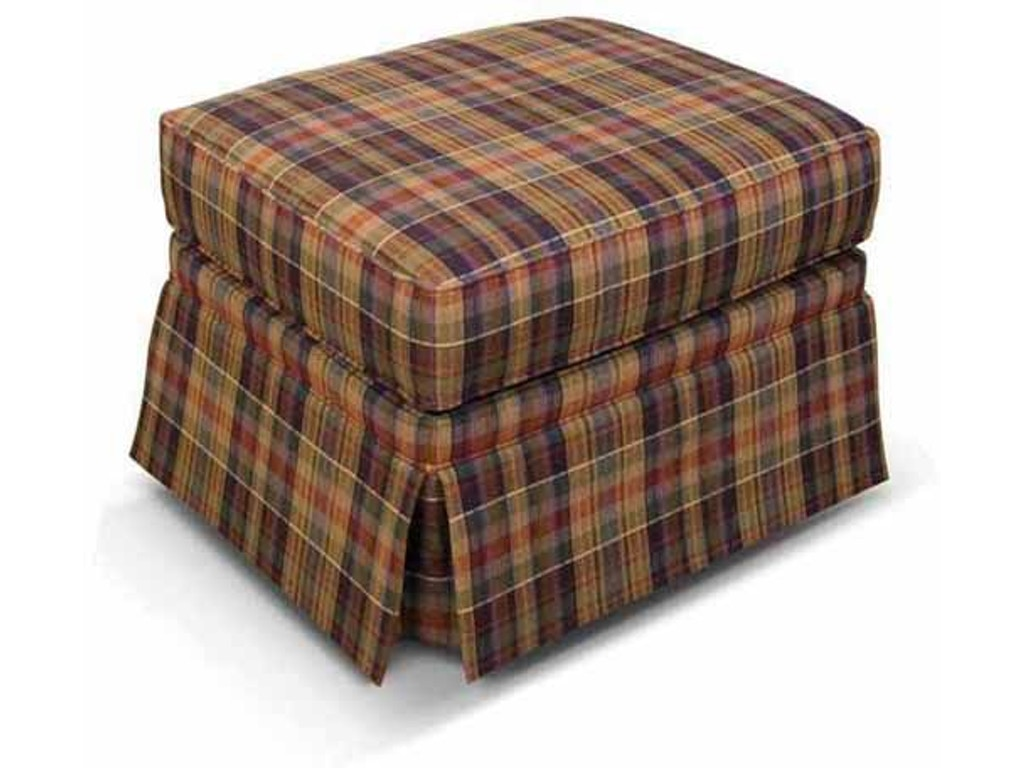 England Living Room Macy Storage Ottoman With Nails