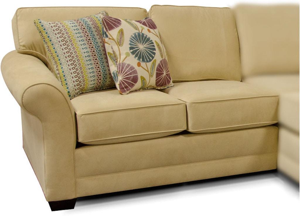 England Living Room Brantley Raf Loveseat 5630 28 Joe Tahan S