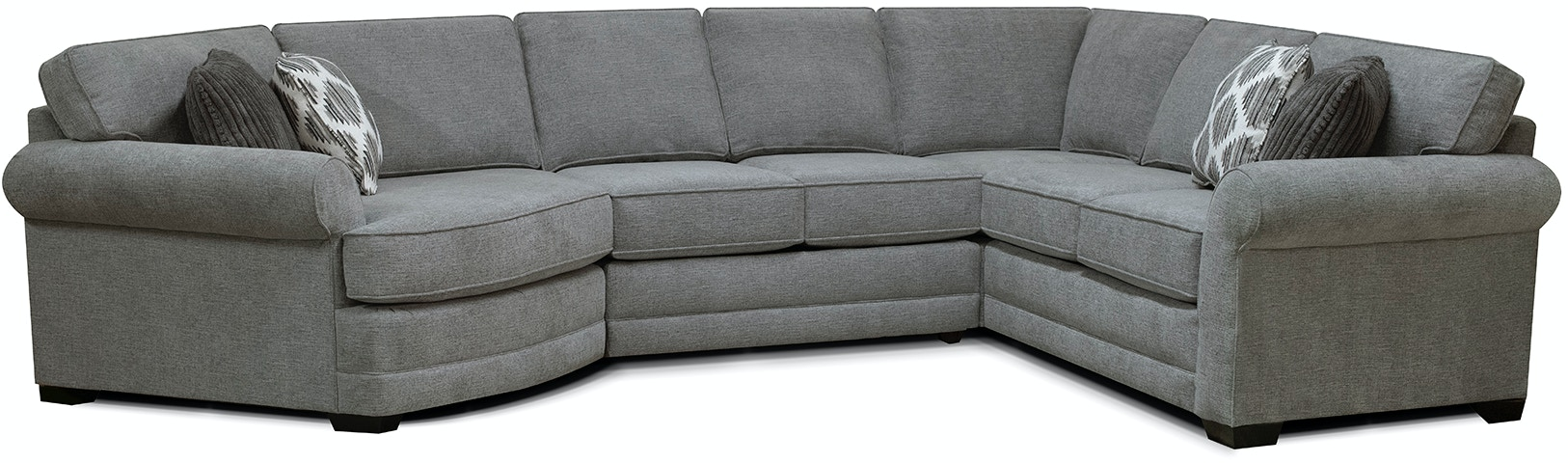 England Living Room Brantley Sectional 5630 Sect England