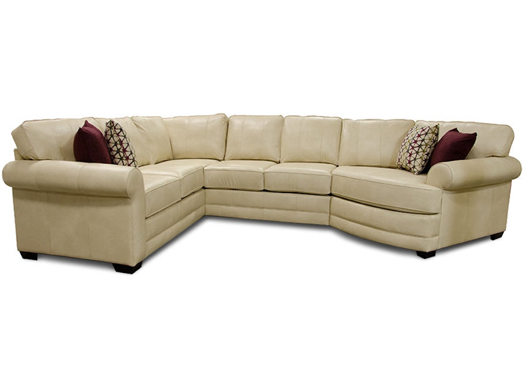 England living room landry sectional 5630al sect doughty for Sectional sofa nj