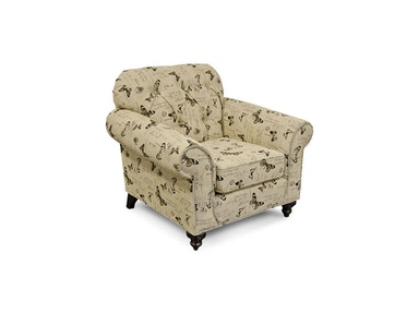 England Stacy Chair with Nails 5734N