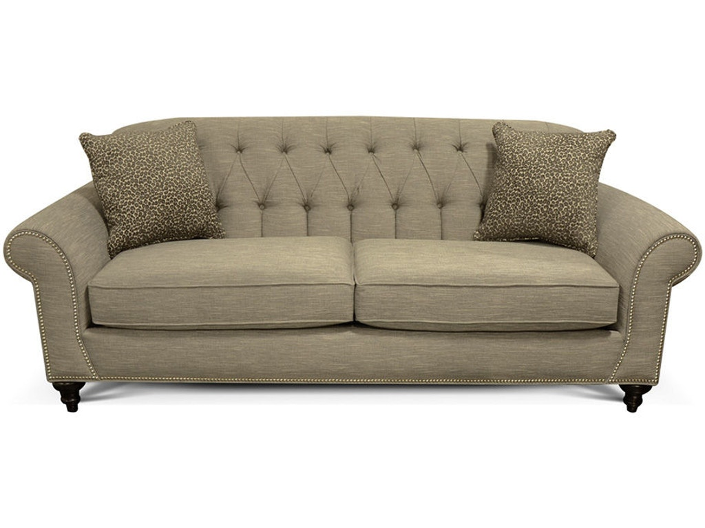 England Living Room Stacy Sofa With Nails 5735n Seaside