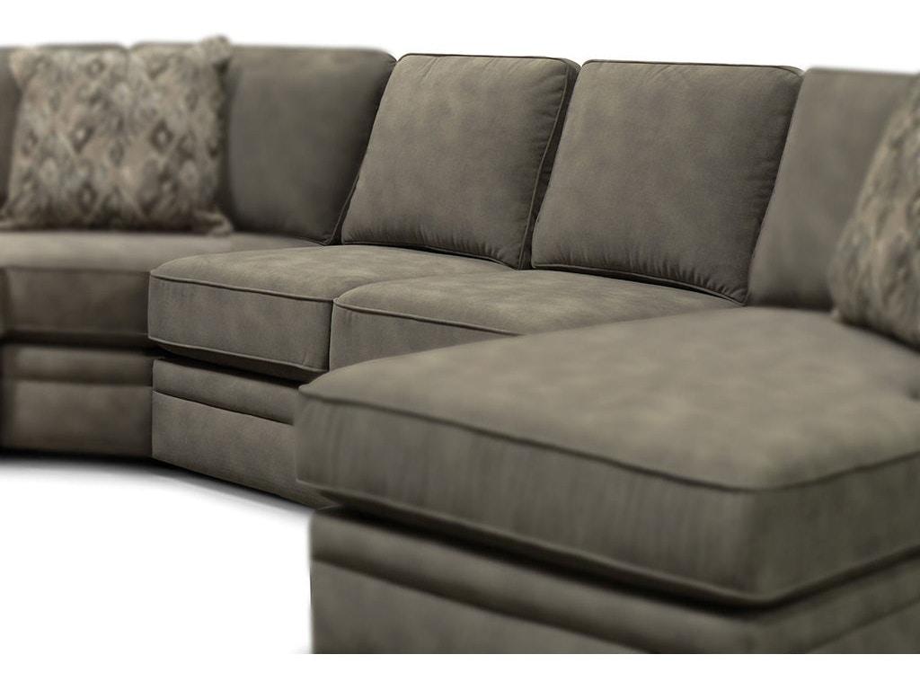 England Living Room Lackawanna Armless Sofa 730040L