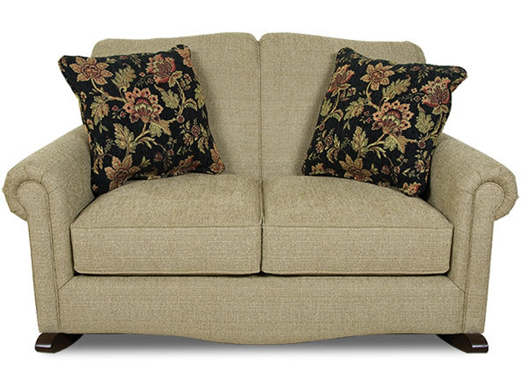 England Living Room Linden Rocking Loveseat 630 99 Sawmill Inc E Stroudsburg Pa