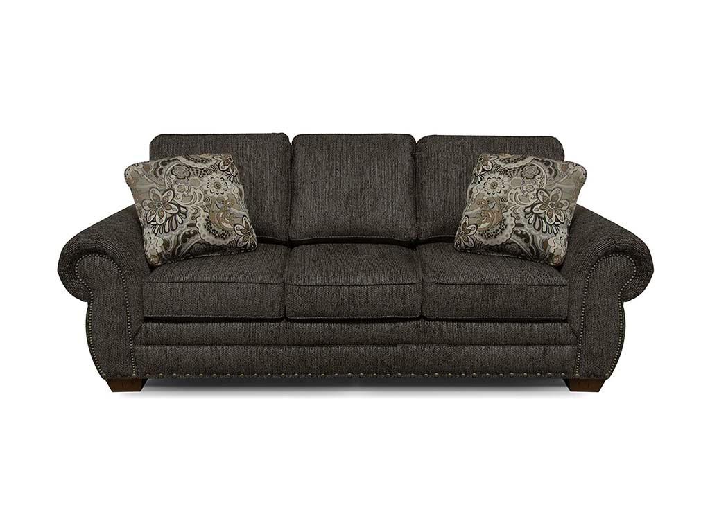 England Living Room Walters Sofa With Nails 6635N Bob Mills Furniture Tul