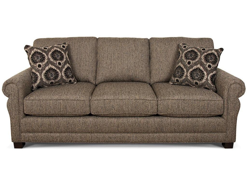 England Living Room Green Sofa 6935 England Furniture
