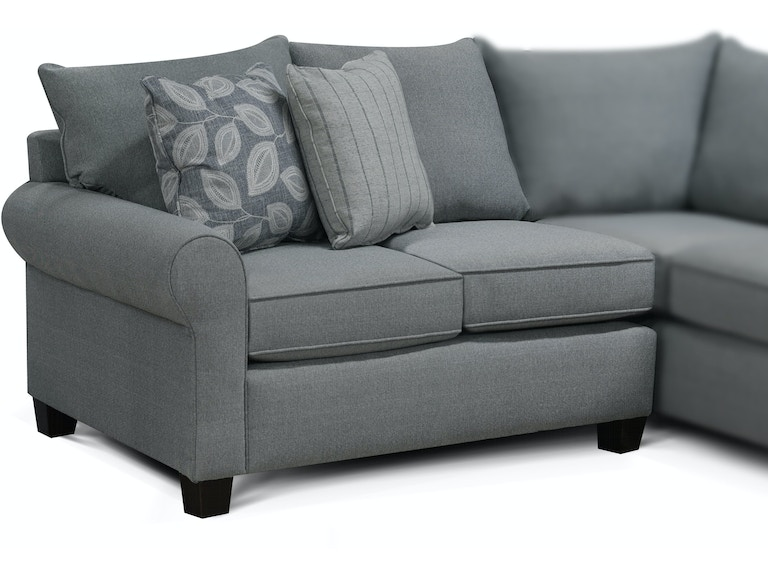 England Living Room Clementine Left Arm Facing Loveseat