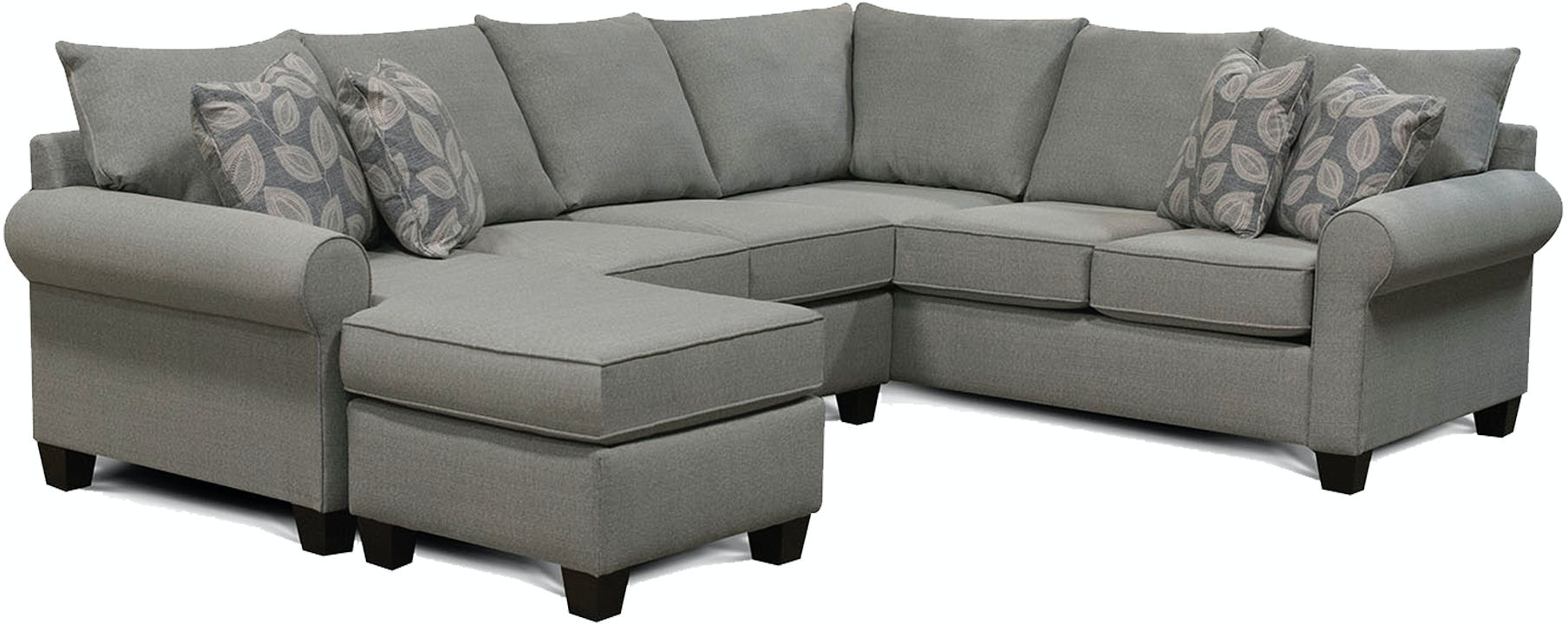 England Living Room Clementine Sectional 6j00 Sect