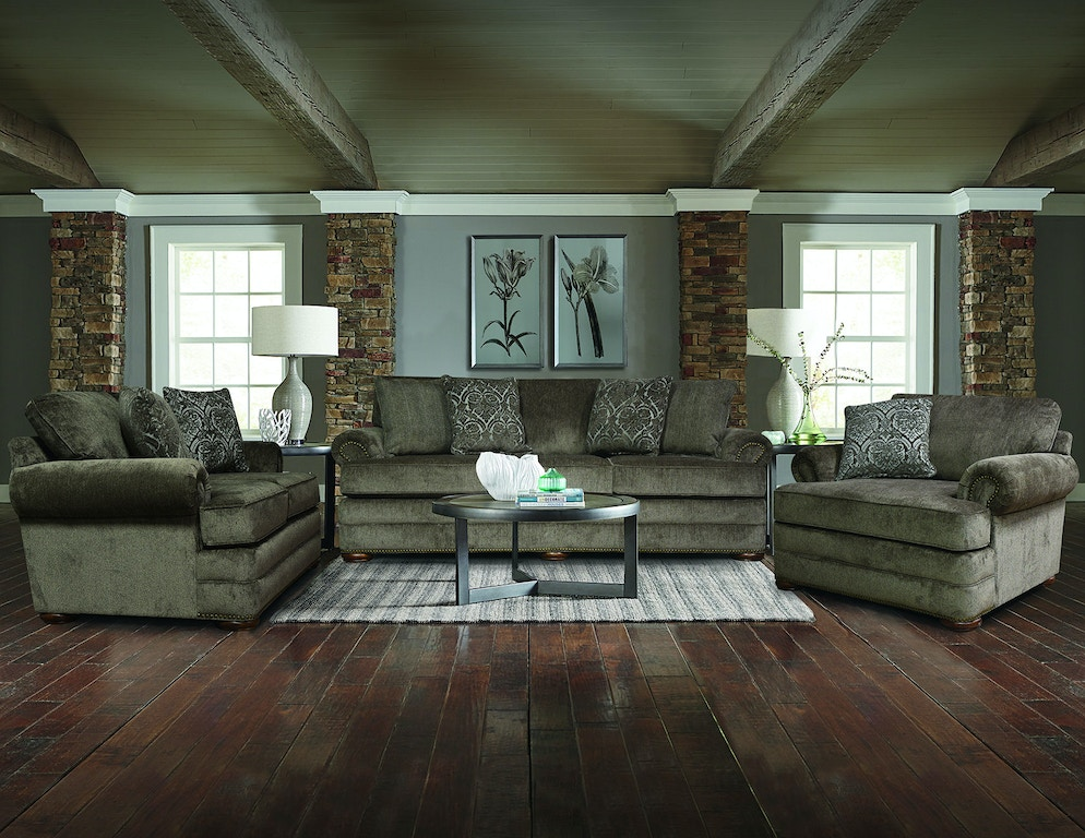 Living Room Knox Sofa With Nails 6m05n